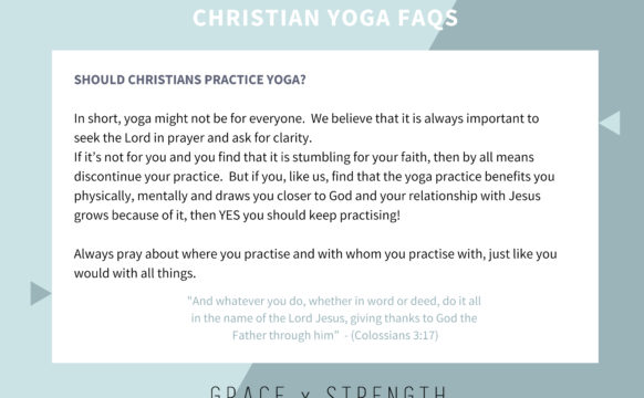 Should Christians Practise Yoga?